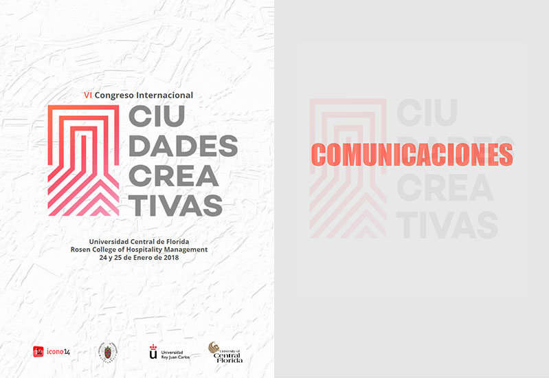 Actas del 6 Congreso Ciudades Creativas. Book of proceedings